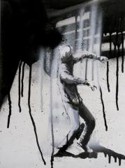 Human figure in motion